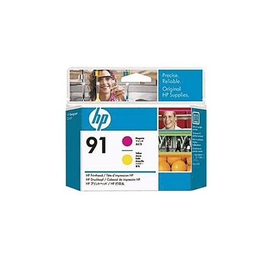 48985_Original_HP_Druckkopf_91_C9461A_magenta_gelb_für_DesignJet_Z_6100_AG