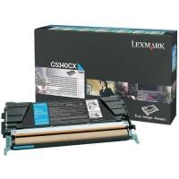 Original Lexmark Toner C5340CX cyan für C534n C534dn C534dtn Neutrale Schachtel