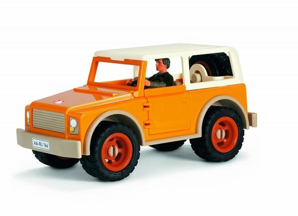 Schleich Bauernhof - Geländewagen mit Fahrer - Spieleauto 42025