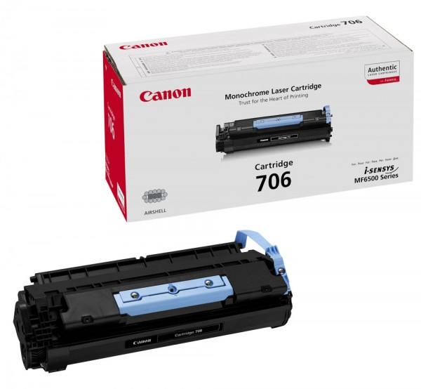 Original Canon Toner 0264B002 CRG 706 für MF 6520 6530 6540 6550 Neutrale Schachtel