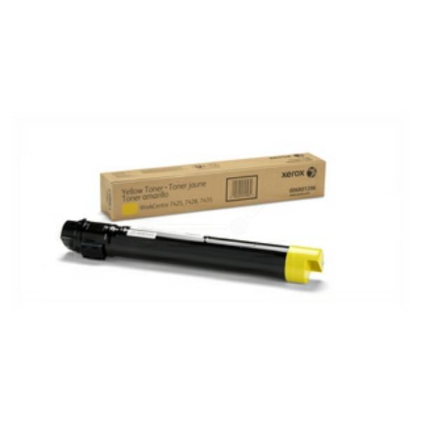 Original Xerox Toner 006R01392 gelb für WorkCentre 7425 7428 7435 Neutrale Schachtel