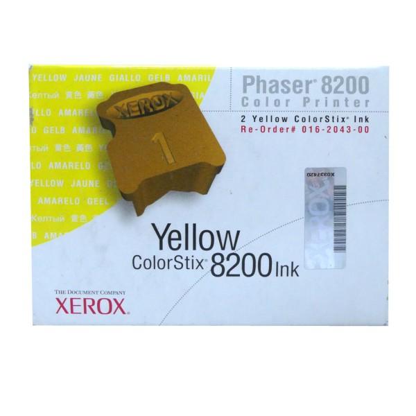 Original Xerox Tinte 016204300 gelb für Phaser 8200