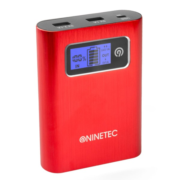 NINETEC PowerDrive 2in1 32GB USB Speicher + Power Bank