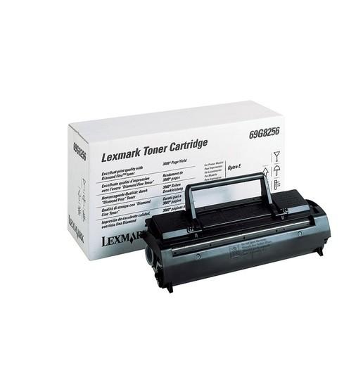 Original Lexmark Toner 69G8256 schwarz für Optra E