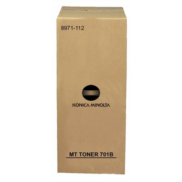 Original Konica Minolta Toner MT 701B (8971-112) schwarz für DI 750