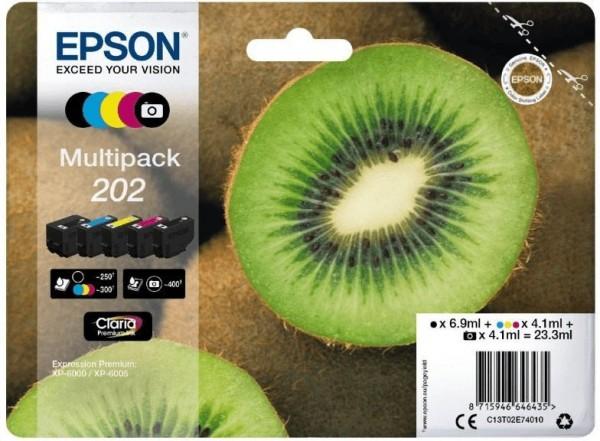 Original Epson Tinte Patrone 202 Expression Premium XP 6000 6100 6105 SET