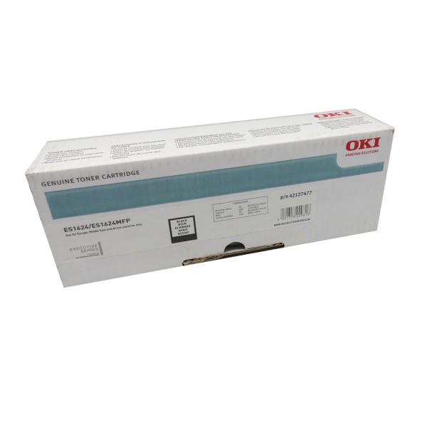 Original OKI Toner 42127477 schwarz für ES 1220 1600 1624
