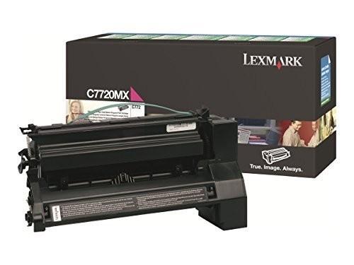 Original Lexmark Toner C7720MX magenta für C 772 X 772