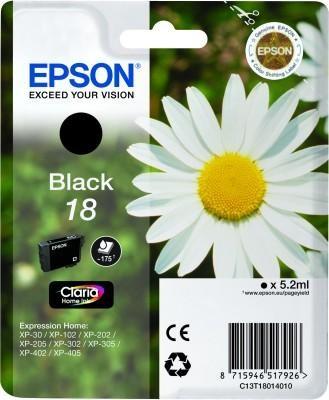 Epson 18 BK (C13T18014010) OEM