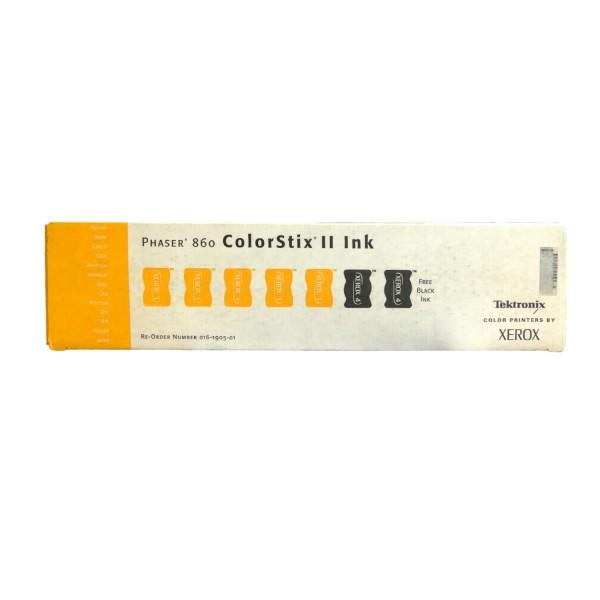 Original Xerox Tinte 016-1905-01 schwarz gelb für Phaser 860
