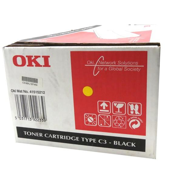 Original OKI Toner 41515212 schwarz für C9200n C9400 B-Ware