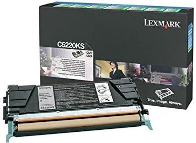 Original Lexmark Toner C5220KS schwarz für C 520 522 524 530 532 534