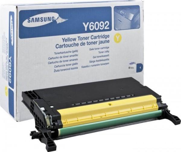Original Samsung Toner CLT-Y6092S gelb für CLP-770 CLP-775 Neutrale Schachtel