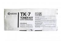 Original Kyocera Toner TK-7 schwarz für F 1800 3300 B-Ware