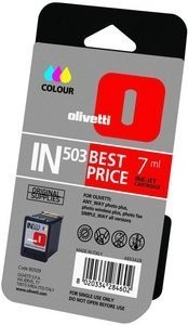 Olivetti IN503 COLOUR (B0509) INK CARTRIDGE OEM