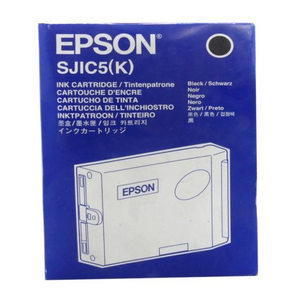 42398_Original_Epson_Tinten_Patrone_SJIC5K_(C33S020271)_schwarz_für_TM-J2000