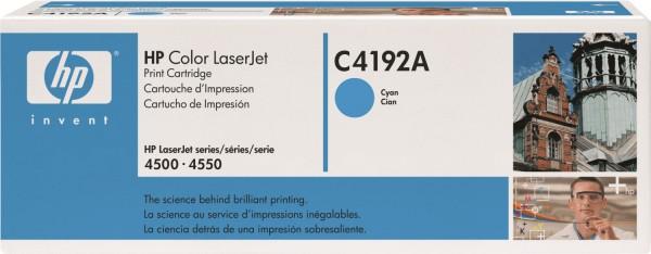 Original HP Toner 640A C4192A Color Laserjet 4500 4500DN 4500N 4550 4550DN