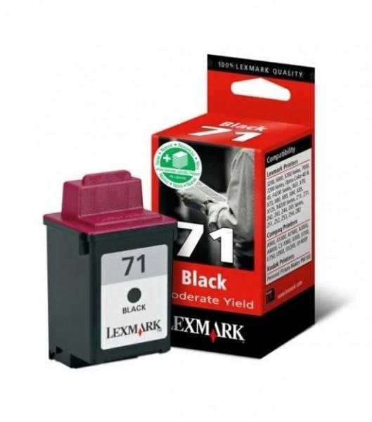 Lexmark 71 BK (15M2971E) OEM