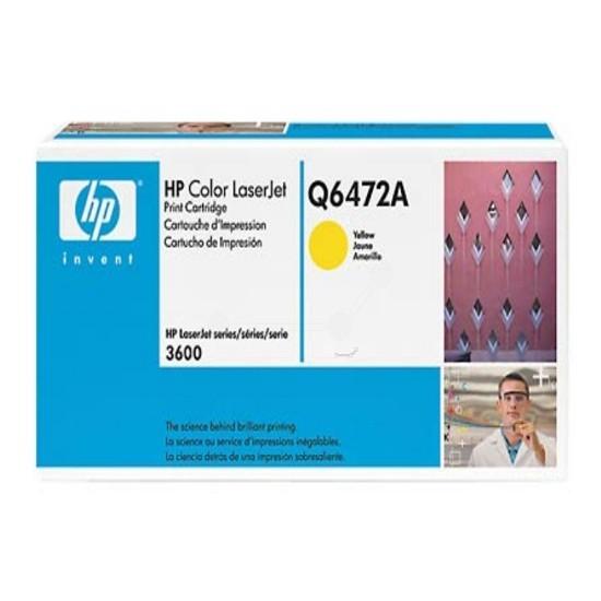 Original HP Toner Q6472A 502A für HP Color Laserjet 3600 3600DN B-Ware