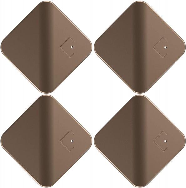47332_tracMo_Cubitag_Bluetooth_Tracker_für_diverse_Sachen_klein_&_handlich_goldbraun_4er_Set