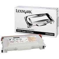 Original Lexmark Toner 20K0503 schwarz für C 510 B-Ware