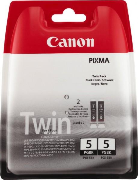44964_2x_Original_Canon_Tinte_Patrone_PGI-5BK_Pixma_IP_3300_3500_4200_5200_MP_500_520_600_800_810