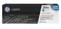 Original HP Toner 304A CC531A Color Laserjet CP 2025 2026 2027 B-Ware