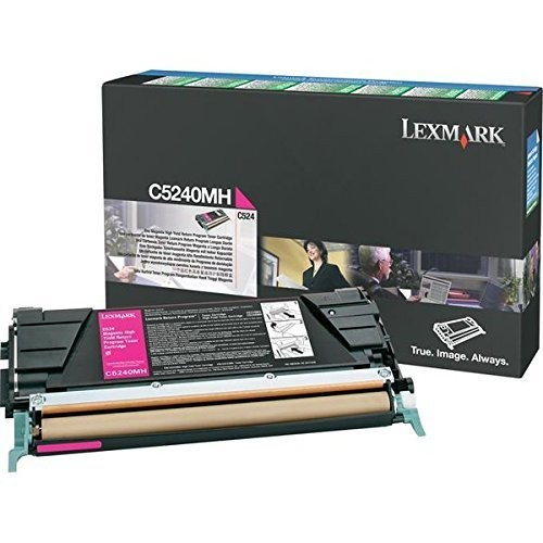Original Lexmark Toner C5240MH magenta für C 534 C 524 Neutrale Schachtel
